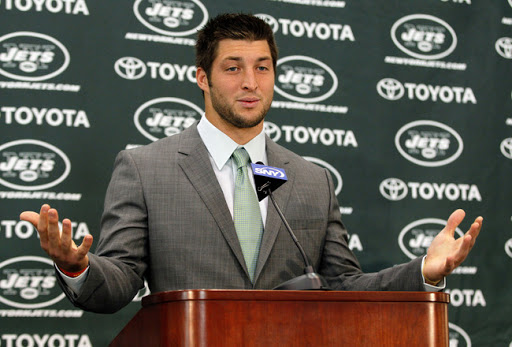 NFL Suspends Tebow For Testing Positive for Moral Fiber